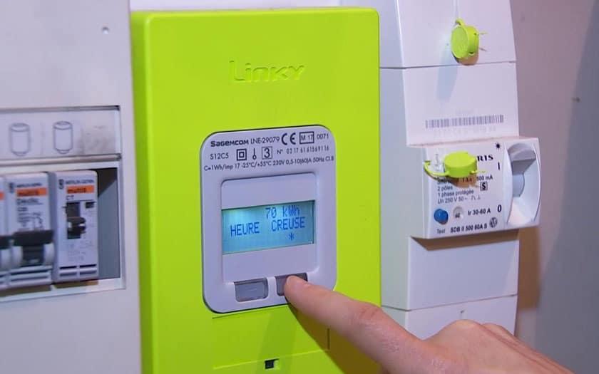 Que signifie un compteur électrique qui clignote ?