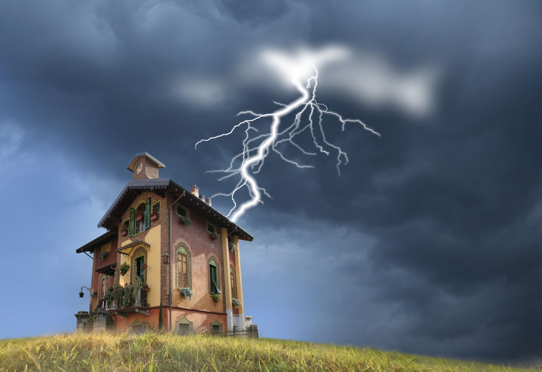 Protéger sa maison de la foudre